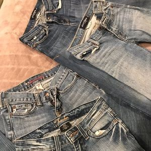 Girls size 10 jeans 4pack bundle